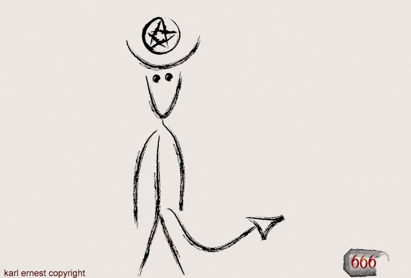 représentation du diable Diable10