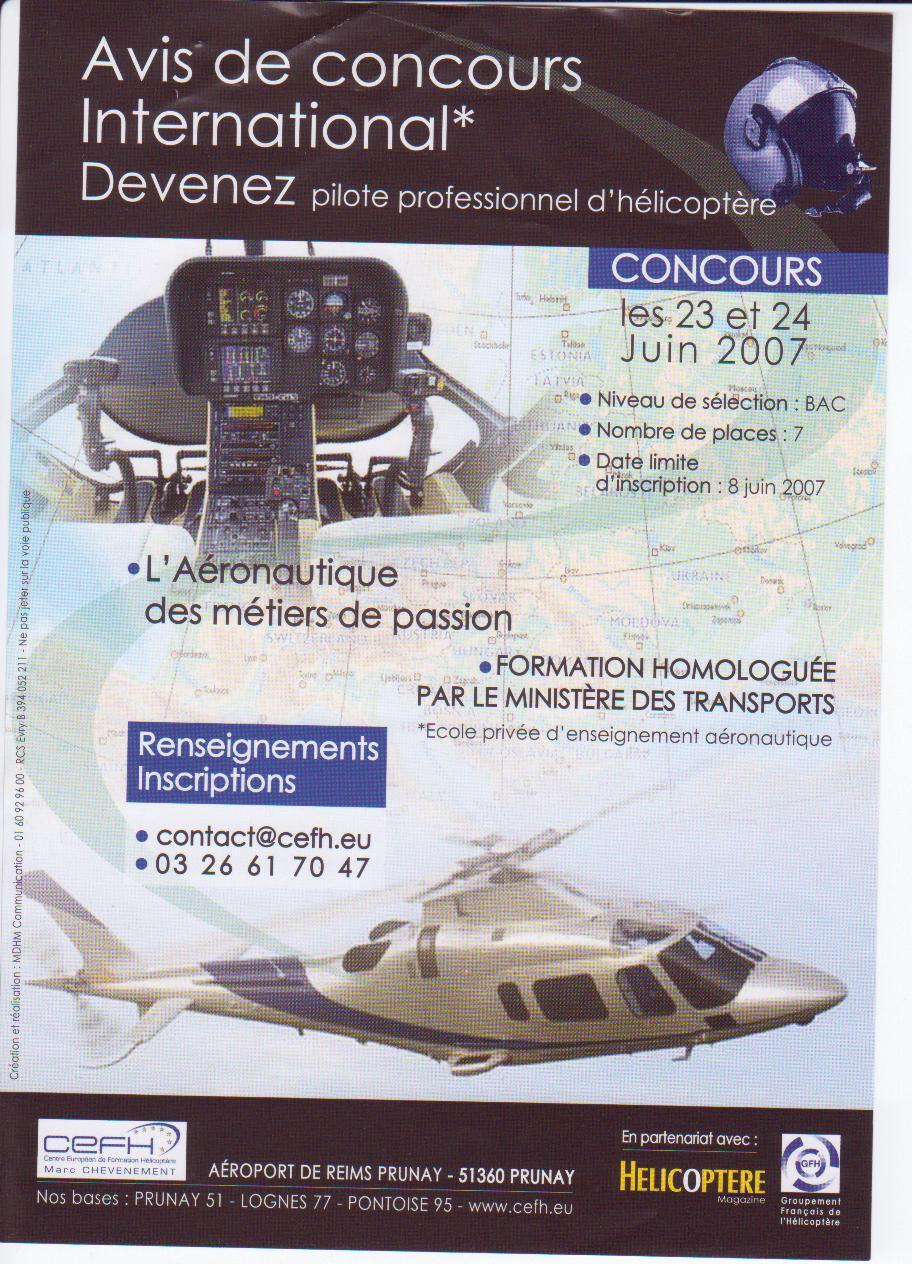 Devenez Pilote professionel d'hélico Pilote10