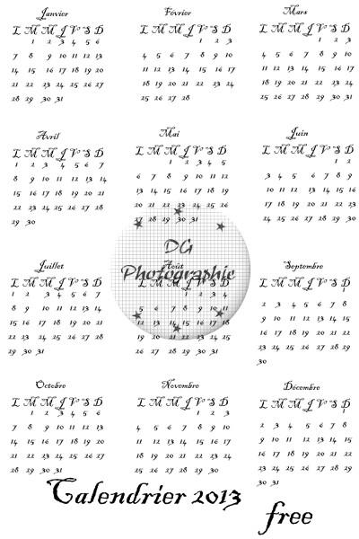 calendrier 2013 dgphotographie Previe11