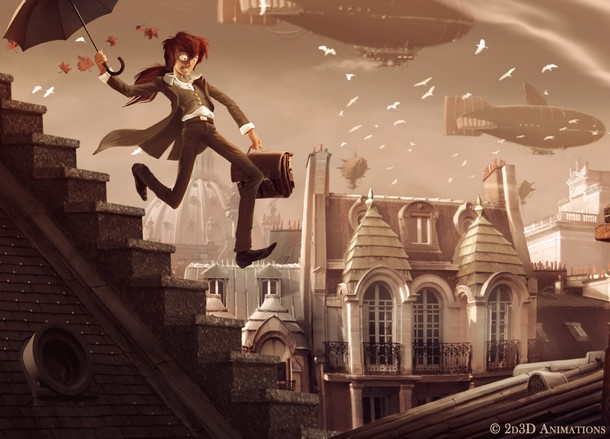 LE REVEIL DU ZELPHIRE - 2d3d Animation - En développement  2d3d_z10