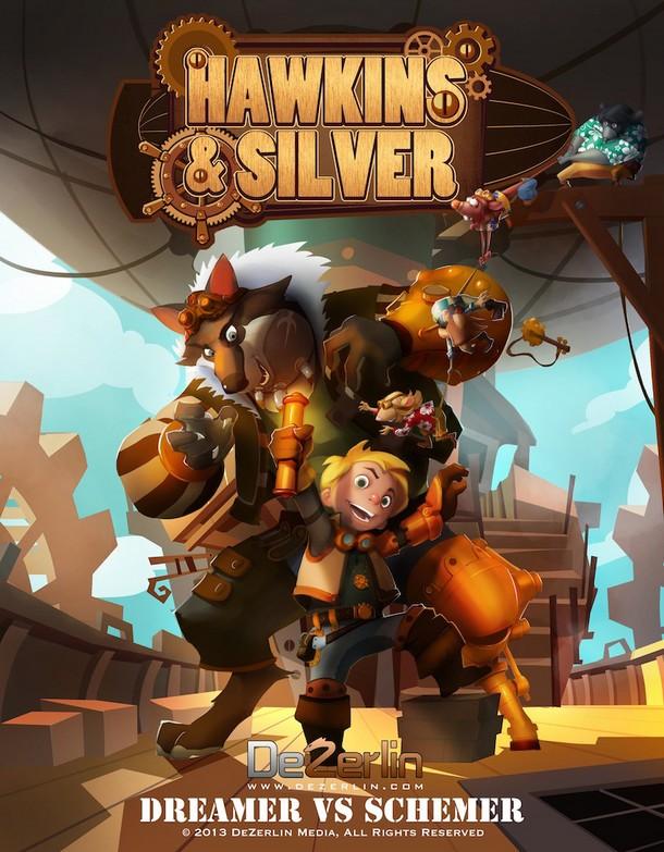HAWKINS AND SILVER - DeZerlin Media/Belfry Animation - 2014 Hawkin10