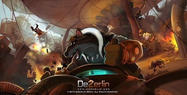 HAWKINS AND SILVER - DeZerlin Media/Belfry Animation - 2014 Hawkin12