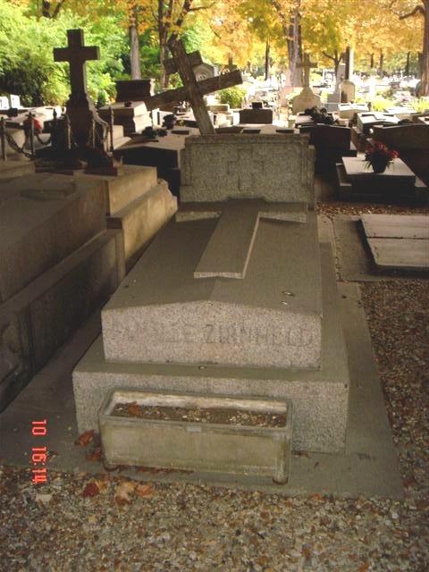 le corps de l'aspirant André Zirnheld 54dqvs10