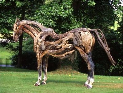 HEATHER JANSCH ou les sculptures en bois... flotté Wooden10
