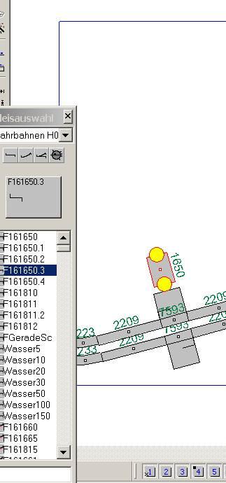 Création de routes avec Wintrack Captur12