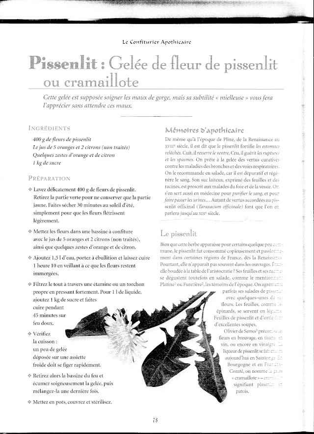 PISSENLIT Numeri10
