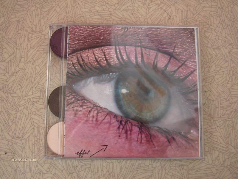 ma palette CD rouge baiser et CCB Hpim0910