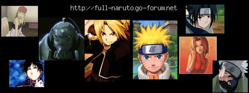 Naruto et Full métal achemist