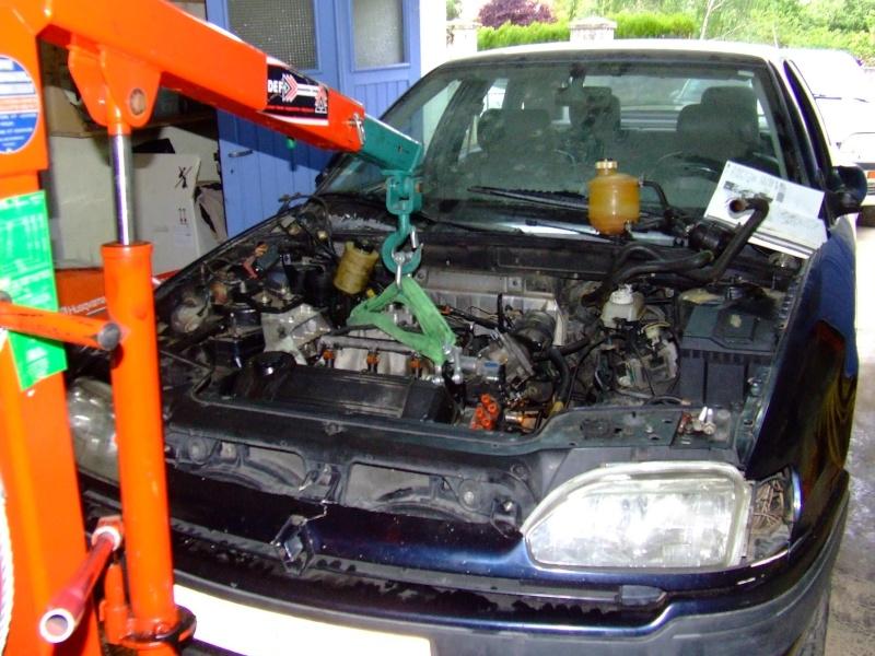 Remplacement d'un moteur sur safrane V6 3.0L RXE Safran16