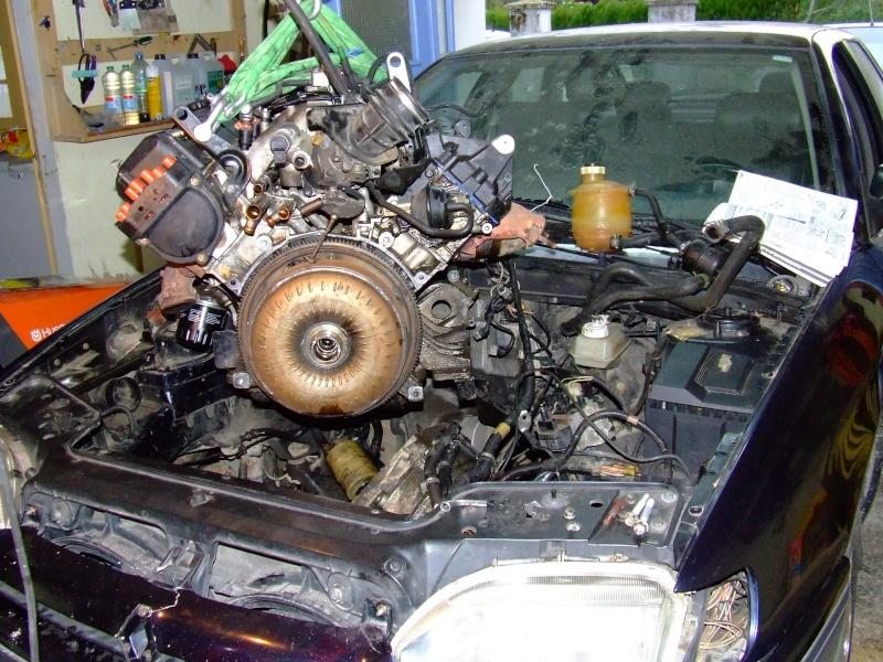Remplacement d'un moteur sur safrane V6 3.0L RXE Safran17