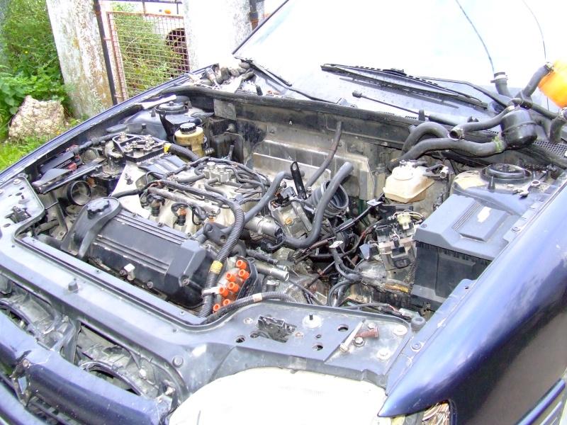 Remplacement d'un moteur sur safrane V6 3.0L RXE Safran20