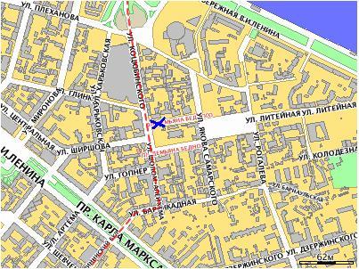 Как едем, куда подходить Map11