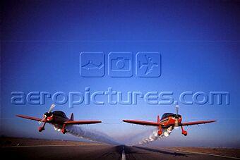la patrouille acrobatique : la marche verte Sm-04315