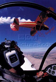 la patrouille acrobatique : la marche verte Sm-04322