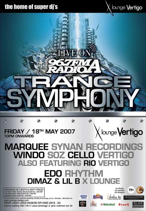 TRANCE SYMPHONY FRIDAY 18 MAY 07 @ VERTIGO Soz-ve10