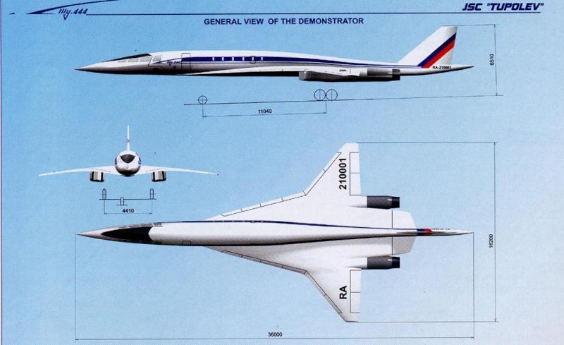 Tupolev 444 Tu-44410