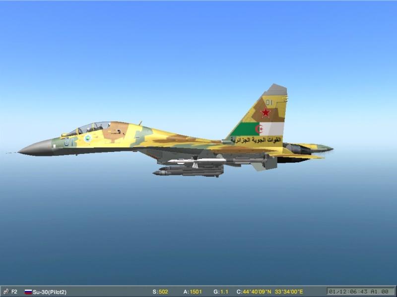مقاتلة السيادة الجوية Soukhoï Su-30 MK Screen17