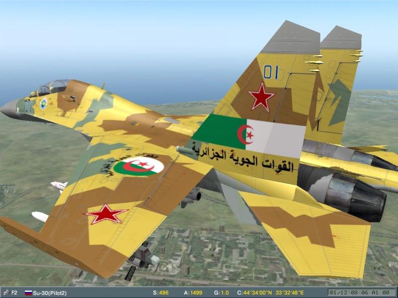 مقاتلة السيادة الجوية Soukhoï Su-30 MK Screen18