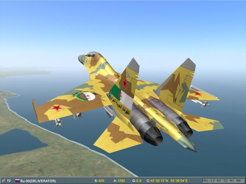 مقاتلة السيادة الجوية Soukhoï Su-30 MK Screen19