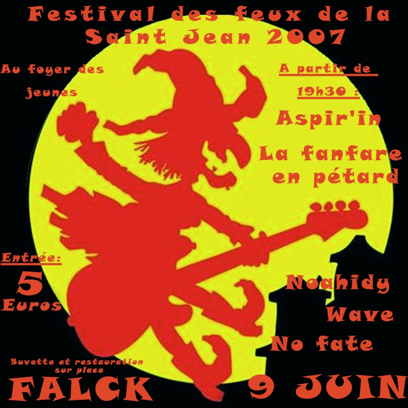 festival de zic des feux de la st jean falck 9 juin Flystj12