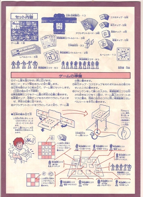 Jeu de société Saint Seiya Page2t10