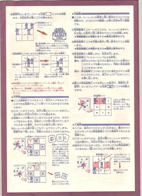Jeu de société Saint Seiya Page6j10