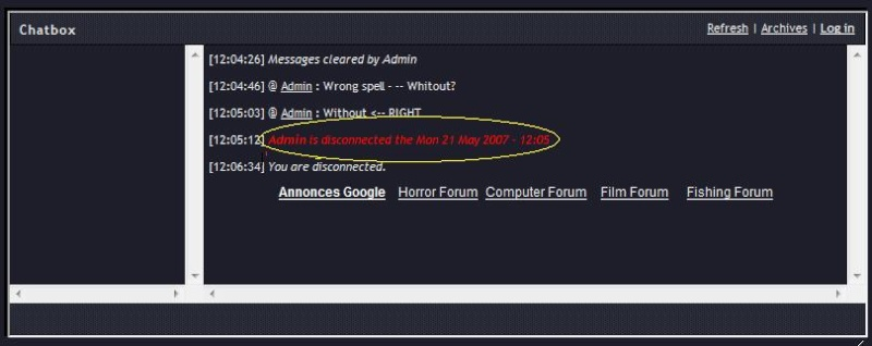 Wrong Spelling and Wrong Grammar on CHATBOX? (solved) 2222210