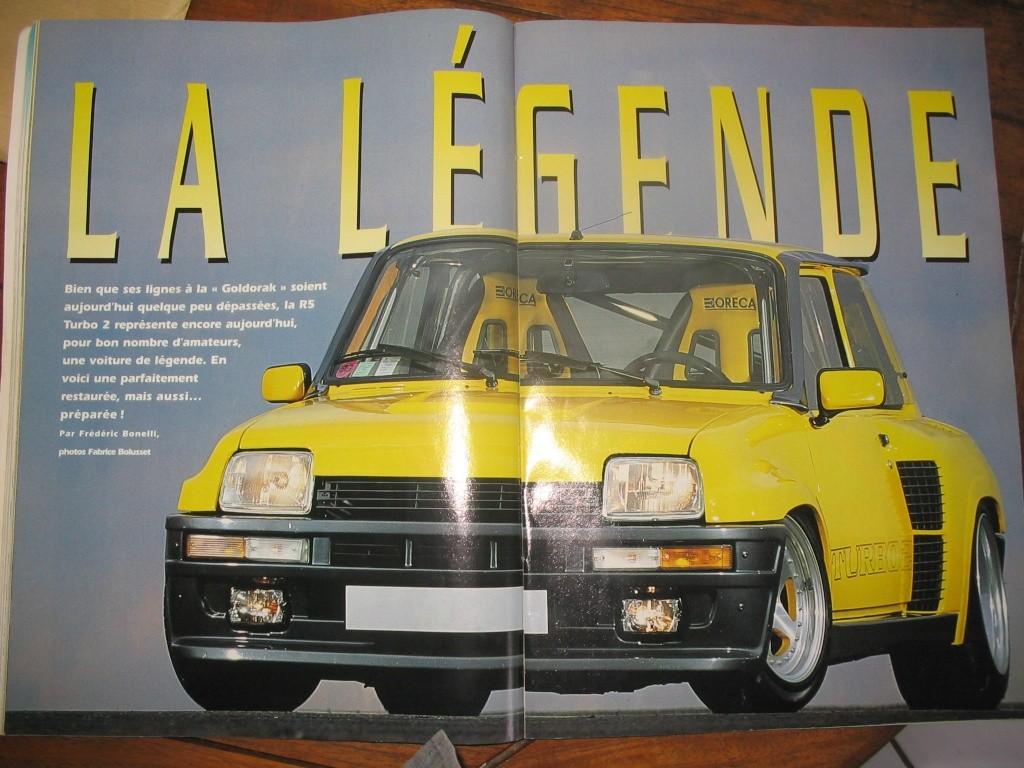 nouveau membre, proprio r5 turbo 2 jaune vue dans gti mag - Page 3 Gti_ma11
