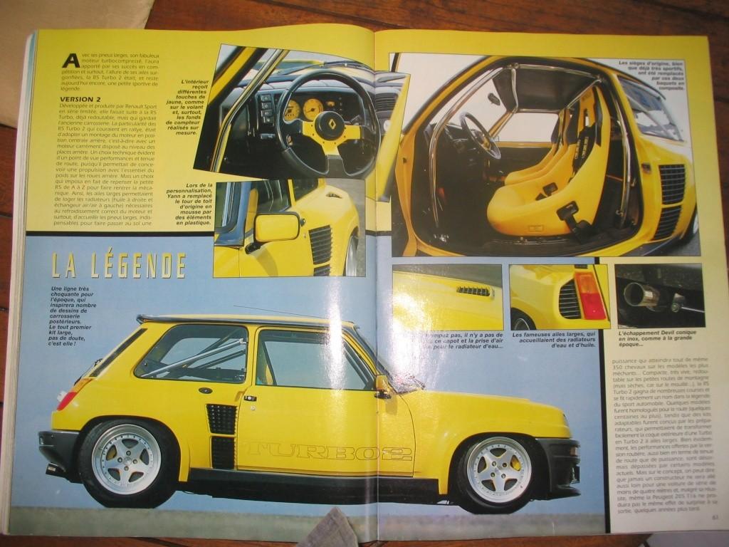 nouveau membre, proprio r5 turbo 2 jaune vue dans gti mag - Page 3 Gti_ma12
