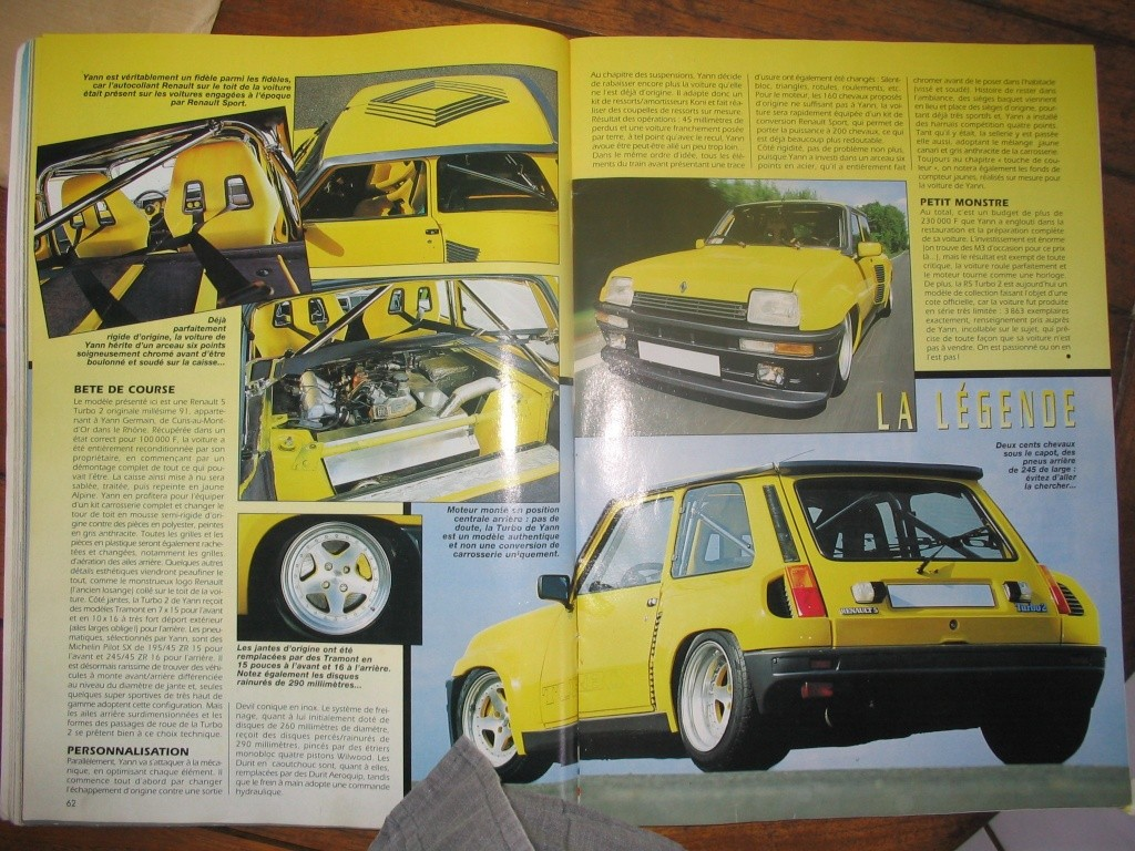 nouveau membre, proprio r5 turbo 2 jaune vue dans gti mag - Page 3 Gti_ma13