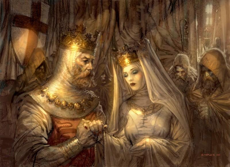 Reyes de Dhargen Meder XI y Laralice Weddin10