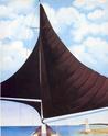 Georgia O'Keeffe [peintre] Brown-10