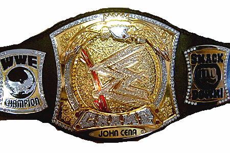 Cinturones de los diferentes campeonatos Cenaww10
