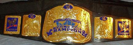 Cinturones de los diferentes campeonatos Smackd10