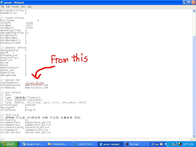 Ways to change your IP address ^^ Snap1010