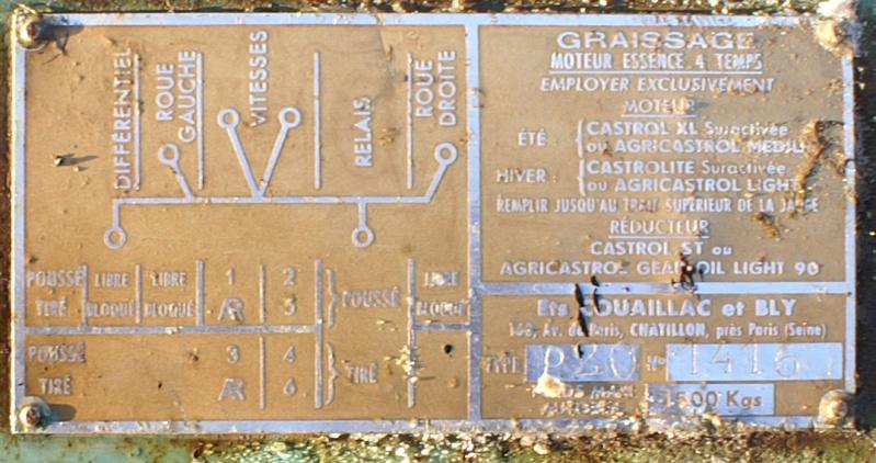 labor - Motoculteur Labor P20 - Page 2 Plaque10