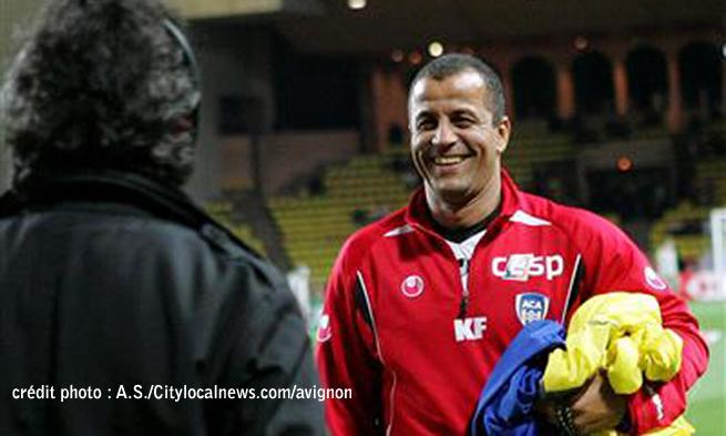 Kader Ferhaoui sur le banc du Sporting Toulon 109_7310