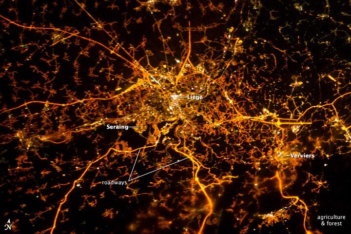 Belle image prise par un astronaute depuis la I.S.S. Iss03410