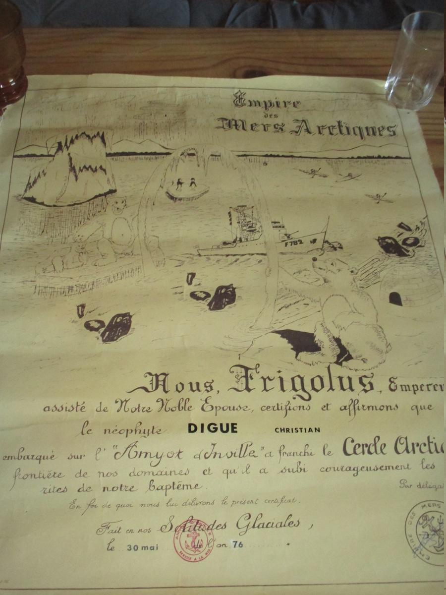 [Les traditions dans la Marine] Passage du cercle polaire (Sujet unique) - Page 4 Img_4260
