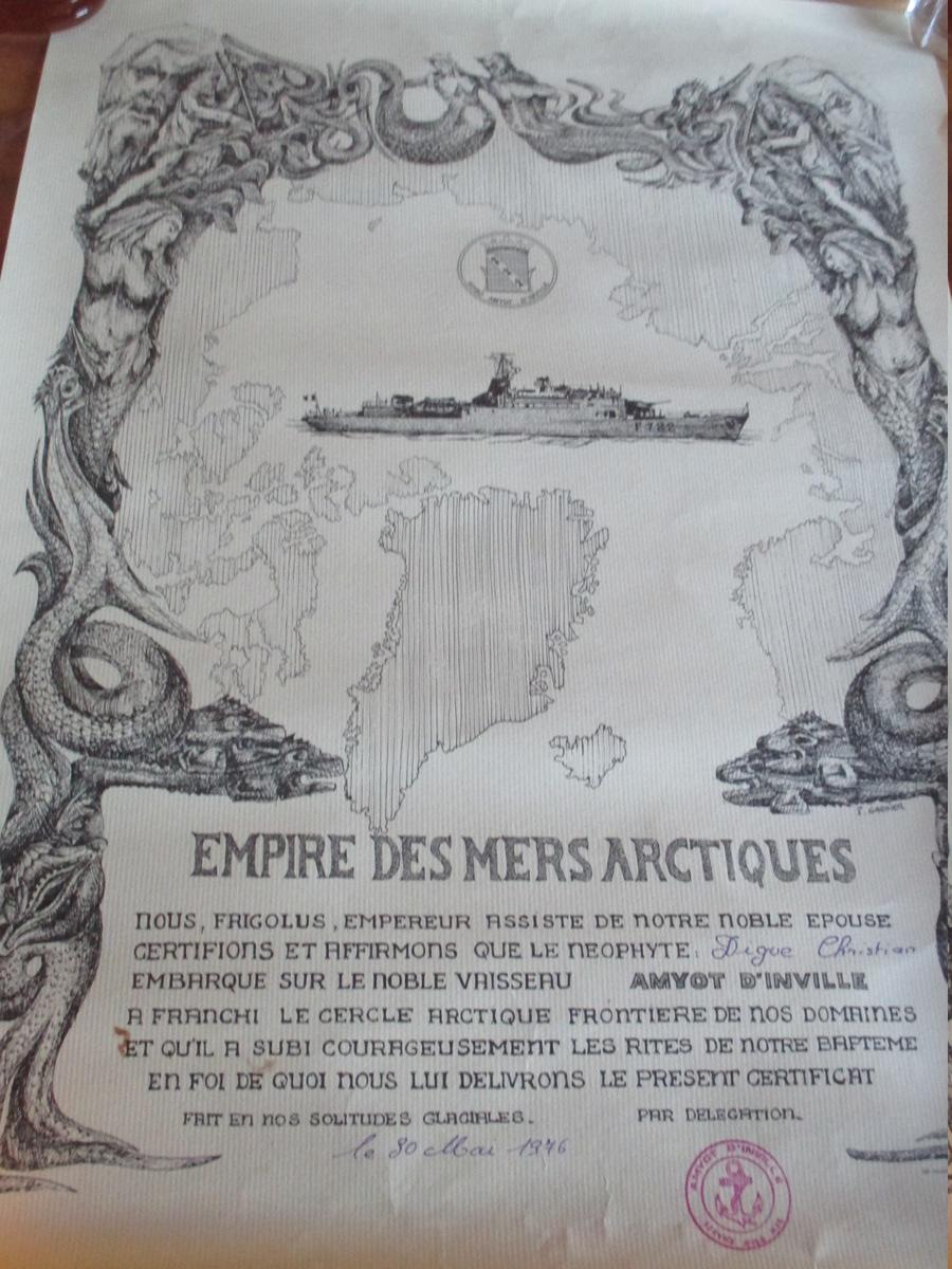 [Les traditions dans la Marine] Passage du cercle polaire (Sujet unique) - Page 4 Img_4261