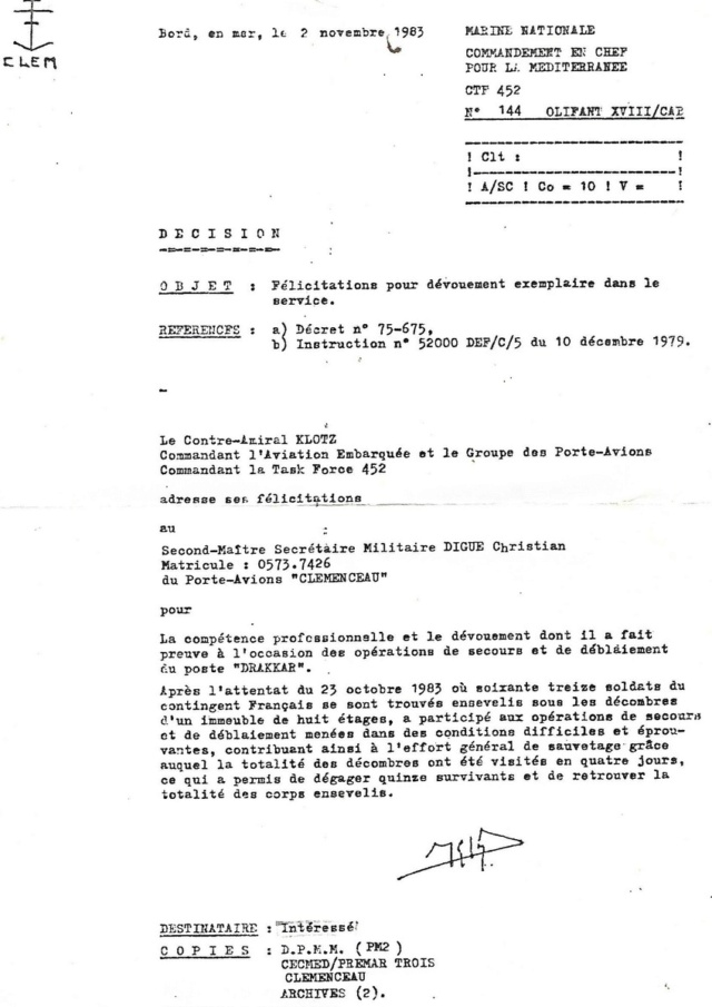 """[Opérations diverses] Beyrouth lors des missions """"Olifan"""" - Page 3 Olifan10"""
