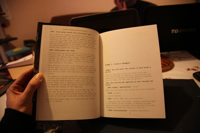 [Horus Heresy] The Scripts: Volume One Img_3711