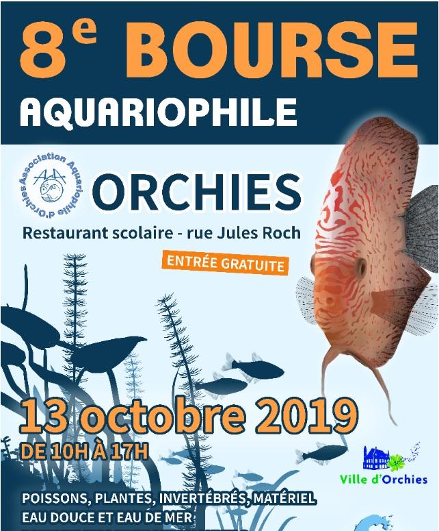 8eme bourse aquariophile d'Orchies  Affich10
