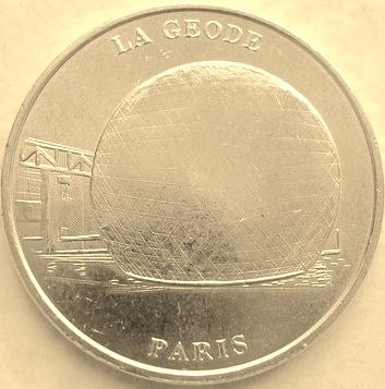 Cité des Sciences et de l'Industrie (75019) [Argonaute / Cité enfants / Géode / UEJL] Geode110