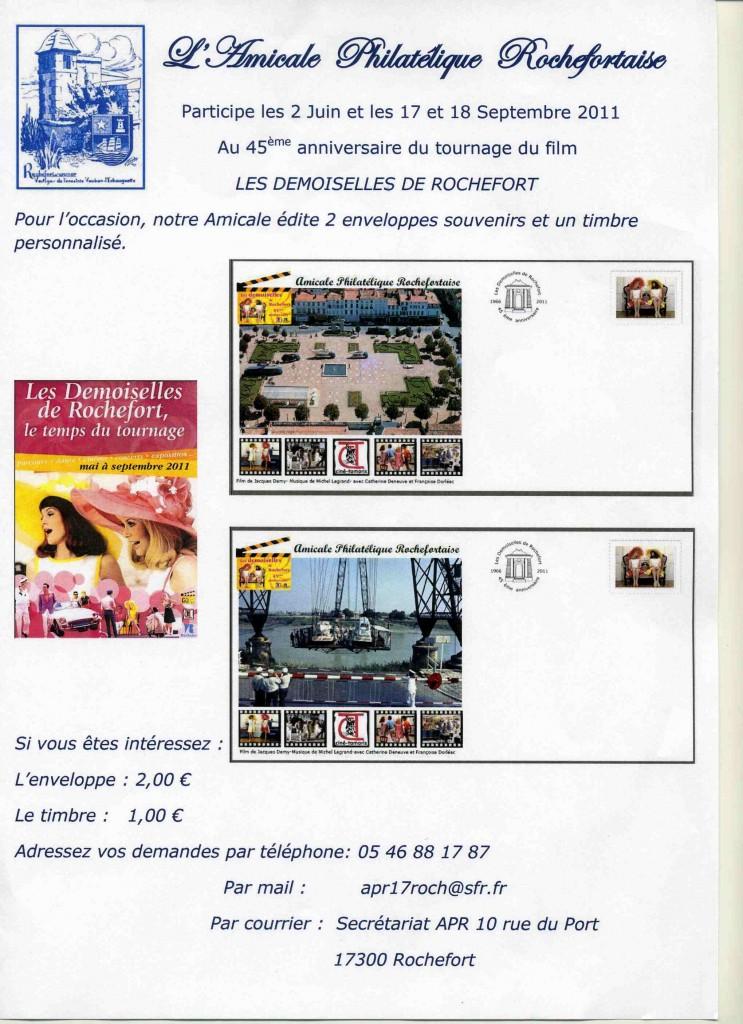 17 - Rochefort - Amicale Philatélique Les-de10