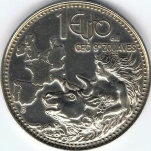 Les Euros et Ecus J.BALME Zouave10