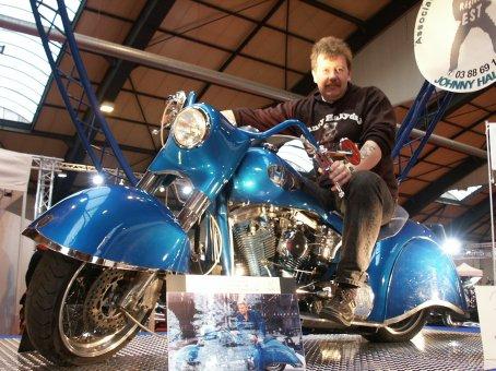 L'HARLEY DAVIDSON SMET Moto_l12