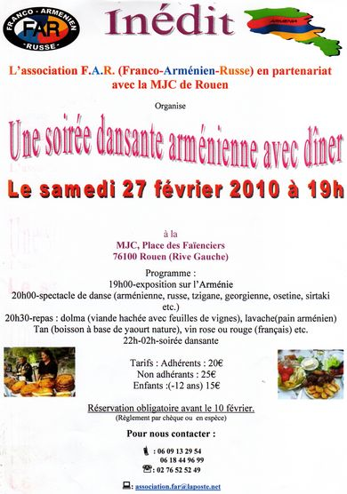 Une soirée de prévue à Rouen Far3111
