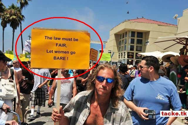 biểu tình đòi quyền được cởi trần ở Mĩ 610