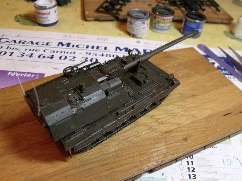 """REVELL 1/72 SLT50-3 """" ELEFANT """" ET Sa aNH.52 T , avec le Panzerhaubitze 2000 et le Fennek dans la même boite - Page 2 Dscf1426"""